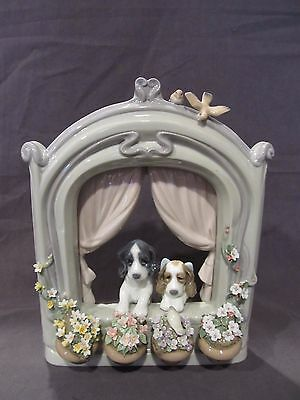 "Lladro Porcelain #6502  ""PLEASE COME HOME""  Mint w/box!!"