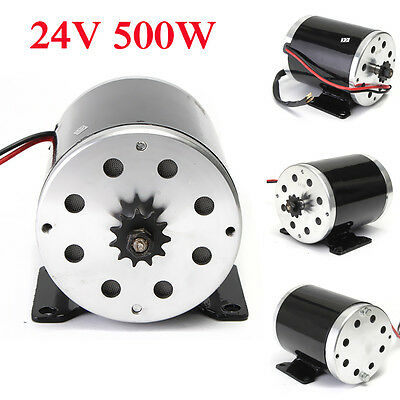 24V DC 500W 28.5A Electric Motor 2800Rpm MY1020 For E-Scooter Electric Bike