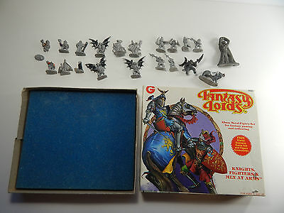 Grenadier Fantasy Lords Misc. Miniatures Lot With Knights Fighters Box
