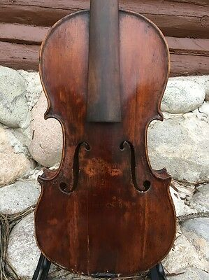 Antique Old Violin, No Label