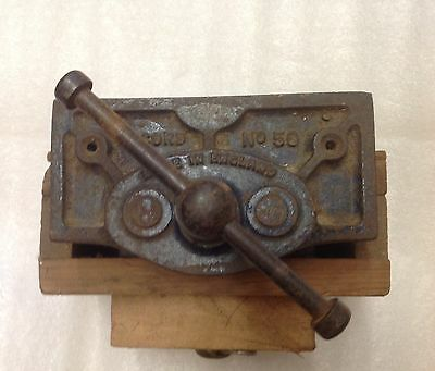 Vintage Record No.50 Vice In Fine Used Condition And Working Smoothly