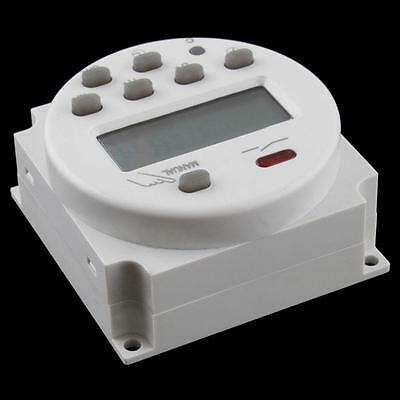 Durable AC 220V-240V Digital LCD Programmable Timer Time Switch Connection Sale~
