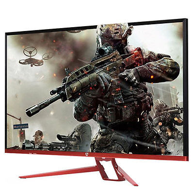 """[Perfect] Crossover 32SS QHD DP Freedom 100Hz FreeSync 32"""" Red Wine Monitor"""