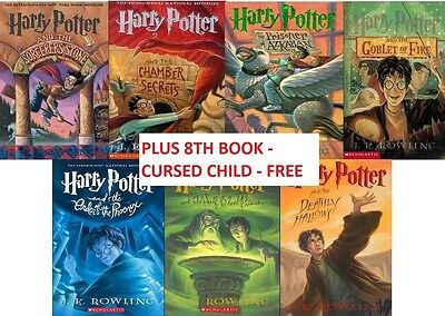 HARRY POTTER complete 8 audio book collection MP3 on DVD includes CURSED CHILD