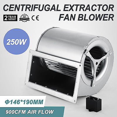 250W Centrifugal Blower Fan Fireplaces Pellet Stove Axial Room Spiral
