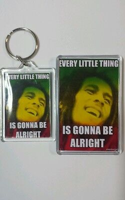 Bob  marley  fridge  magnet  and  keyring