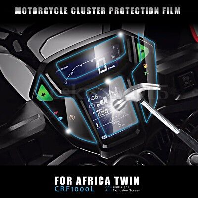 Cluster Scratch Anti-Scratch Screen Protector Film Fit For Africa Twin CRF1000L
