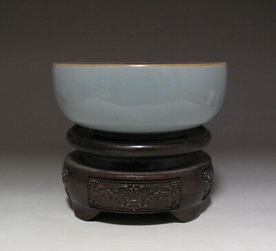 Antique Chinese Ru kiln Celadon Porcelain Brush Washer