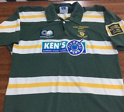 Emerald Rugby Union Jersey Size XL