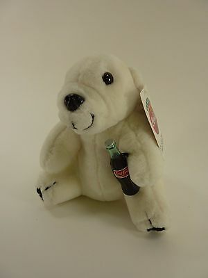 Play By Play 1993 Coca-Cola Brand Plush Collection Polar Bear New with Tags