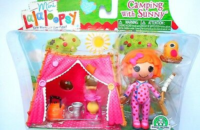 Mini Lalaloopsy Camping With Sunny   Bubble Fun