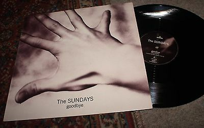 The Sundays - Goodbye - UK Indie 12 inch 1992