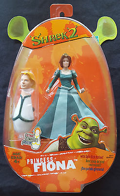 SHREK 2 - Princess Fiona Vintage Toy From 2004 - NEW/SEALED