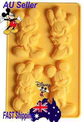 Mickey Minnie Mouse Disney silicone cake clay gumpaste mould  mold