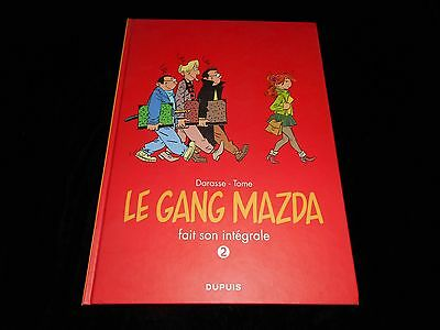 Darasse : Le gang Mazda Intégrale 2 Editions Dupuis 2016