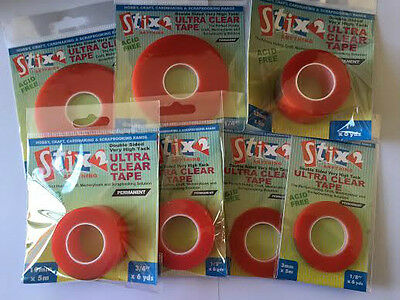 stix2 red ultra strong double sided tape