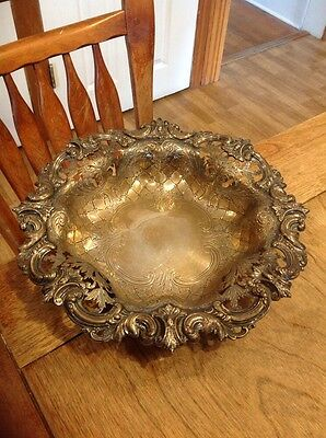 Antique Sterling Silver Bowl 1886-1911 Large Bowl