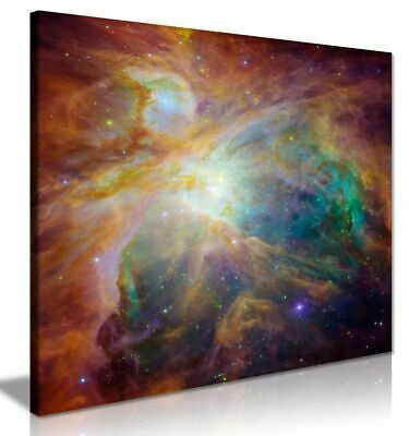 Cosmic Cloud Orion Nebula Universe Outer Space Canvas Wall Art Picture Print