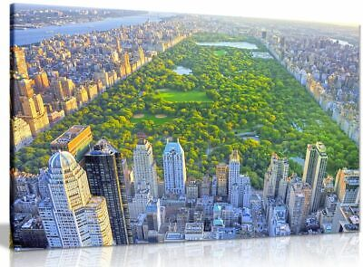 New York Central Park Canvas Wall Art Picture Print
