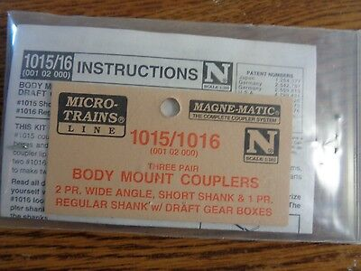 Micro Trains N Scale Lot of 3 Conversion Kits # 1015/1016, 1128 & 2004