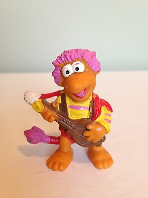 "Vintage 1980s Fraggle Rock Gobo PVC Figure 2"" Schleich Henson Good Condition"