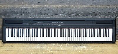 Yamaha P-115 Graded Hammer Standard 88-Key Black Portable Digital Stage Piano