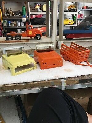 Tonka Truck Cabs And Trailer 1959 and 1962 Cabs