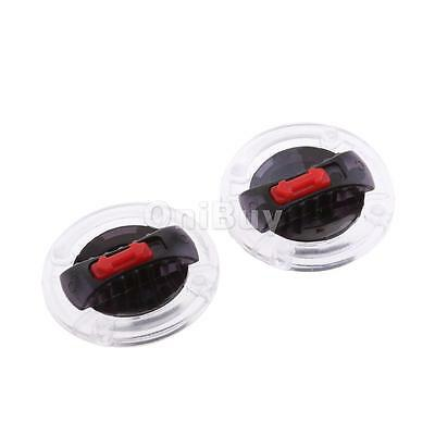 2x Right &Left Helmet Screen Lens Fix Base with Rotate Switch for LS2 Helmet