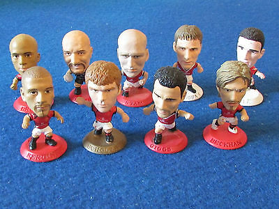 Loose Corinthians Football Figures - Lot of 9 - Manchester United - Lot A