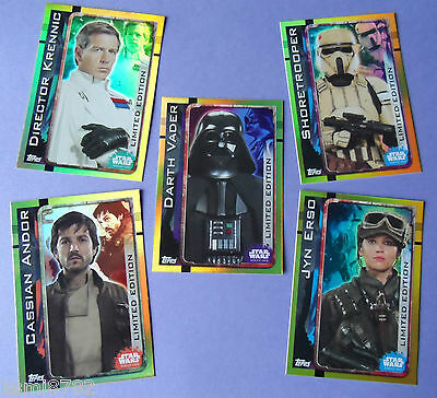 Topps Star Wars Rogue One Limited Edition