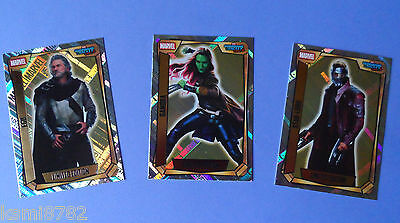 Topps Marvel Missions Hero Attax Limited Editions