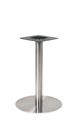 New 3 Pc Stainless Steel Round Table Base Restaurant Furniture Table Top 20R-1