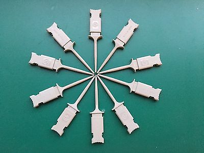 HP (Agilent) SMD IC Logic Grabbers Clips Micrograbbers Probes 5090-4833 x10 NEW