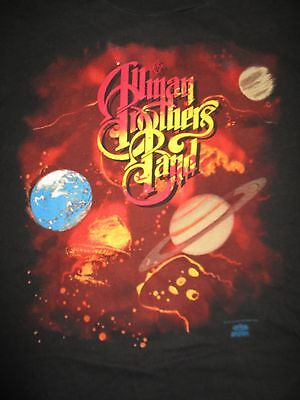 """1991 ALLMAN BROTHERS BAND """"SHADES OF TWO WORLDS"""" Concert Tour (XL) U T-Shirt"""
