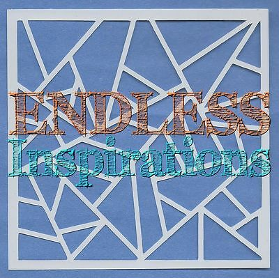 """You Puzzle Me 6/""""x6/"""" Endless Inspirations Stencil Free US Shipping"""