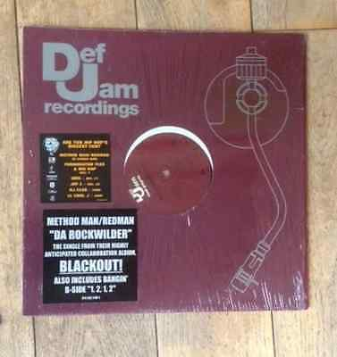 Method man / Redman  da rockwilder def jam records vinyl  hip hop rap
