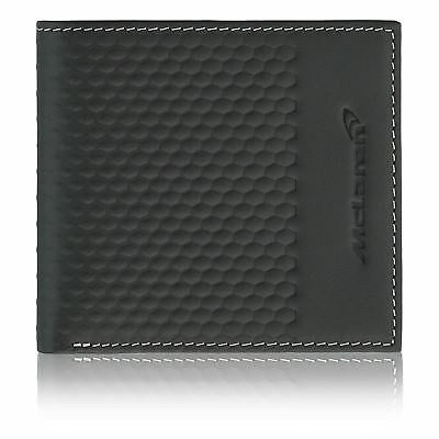 McLaren Official Leather Money Pocket Brown Classic Gift Travel Purse Wallet