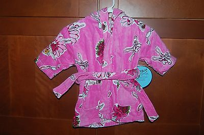 POOL BEACH BATH ROBE Pink Size L (7) Girl BALLET DANCER NWT