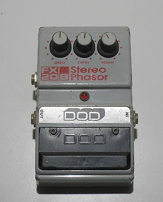 Vintage DOD FX20B Stereo Phasor Guitar Effects Pedal  Tested Working