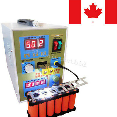 LED Dual Pulse Spot Welder Battery Charger 800 A 0.1 - 0.2 mm 36V 60A FAST SHIP