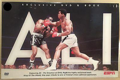 MUHAMMAD ALI - THE GREATEST - ESPN DVD & BOOK GIFT SET - NEW!! boxing