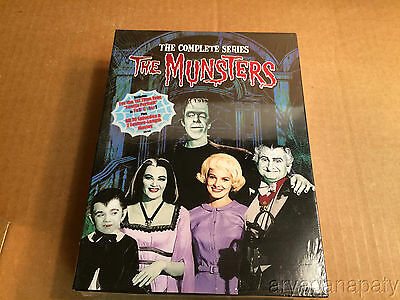 The Munsters - The Complete Series (DVD, 2008, 12-Disc Set) NEW SEALED