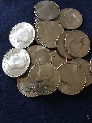 Mixed Year Roll of Kennedy Half Dollar Uncirculated 20 Coins