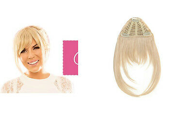 Frankie Essex Hair Clip in Fringe Blonde 61327 Hair Extensions Womens Hairs