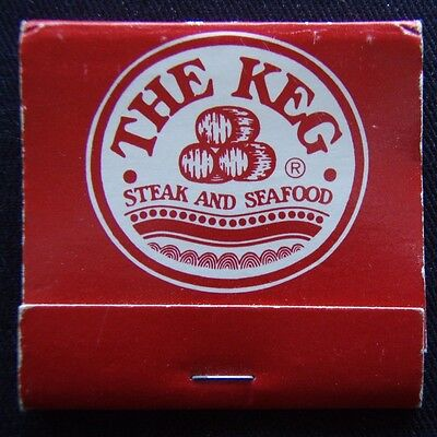 The Keg The Great Steak And Seafood House! Matchbook (MK2)