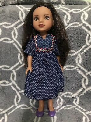 """Playmates Hearts for Hearts Doll Shola from Afghanistan Rare 14"""""""