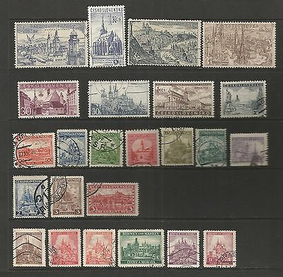Czechoslovakia  -  SELECTION OF FINE USED STAMPS