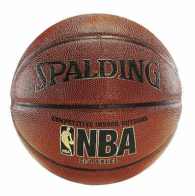 "Spalding NBA Zi/O Excel Basketball - Official Size 7 (29.5""), New"