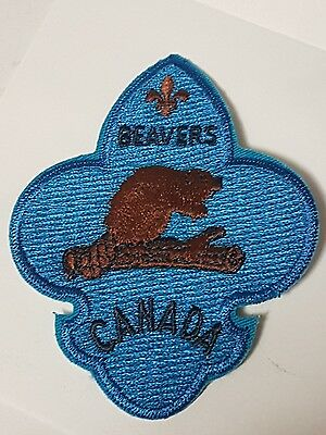 Beavers Canada Patch- Boy Scouts