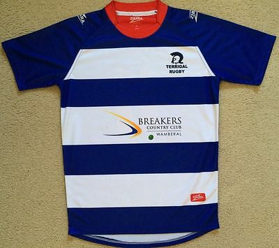 NEW Terrigal Trojans #11 Rugby Union Jersey Shirt Mens L Slim Fit